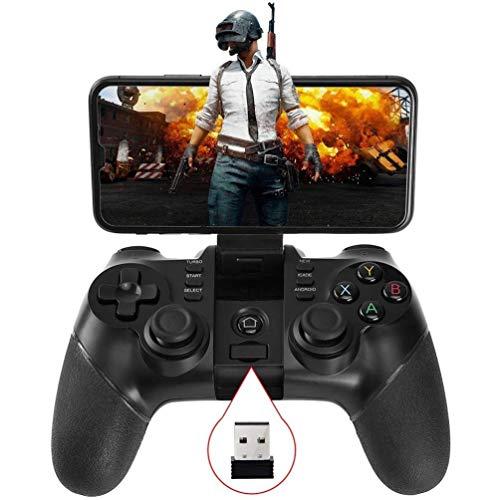 Yughb Contrôleur de Jeu Mobile, contrôleur Rechargeable de téléphone de Jeu Gamepad de contrôleur
