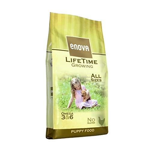 Enova - Lifetime Growing - Puppy. Pollo Riso 12kg