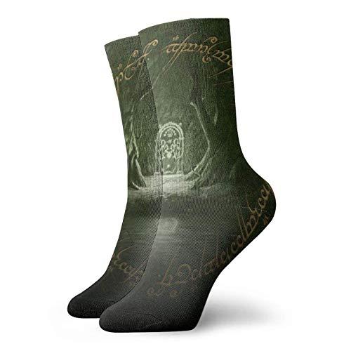 JONINOT Lord Rings Calcetines Wicking Thermal Senderismo No Show Calcetines tobilleros para mujeres y hombres todas las estaciones