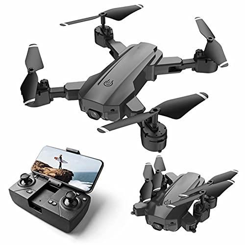 Drone GPS con cámara 4k - Quadcopter Rc plegable con Gps, transmisión en vivo Wifi Fpv / Tap Fly / Follow Me / Altitude Hold / Modo sin cabeza para principiantes