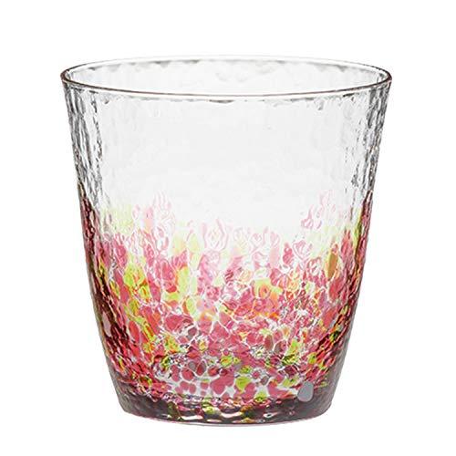東洋佐々木ガラス ロックグラス 水の彩 オンザロック 花の彩 食洗機対応 日本製 300ml CN17709-D05