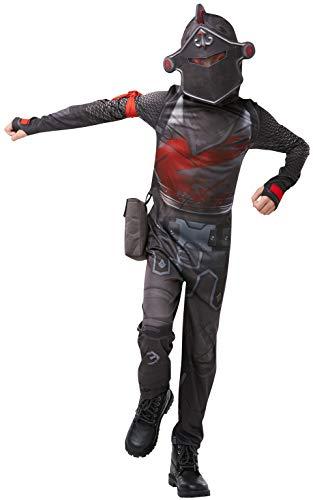 Rubie's - Costume ufficiale del Cavaliere Nero di Fortnite, skin di gioco
