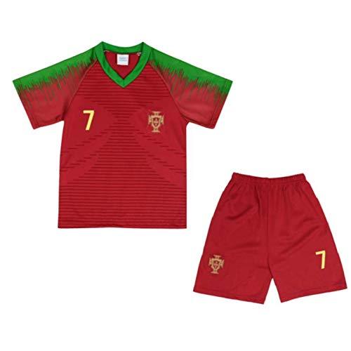 Ensemble de Sport Maillot et Short du Portugal Enfant Taille 14 Ans