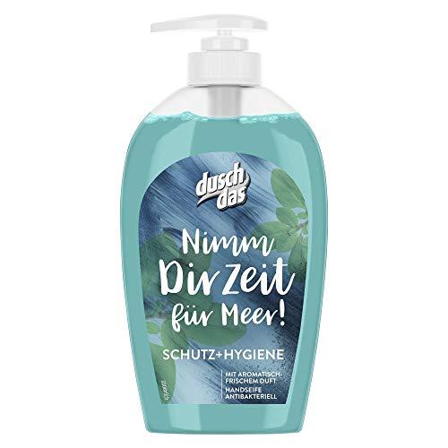 Duschdas Flüssigseife, für hygienisch saubere Hände Schutz & Hygiene mit antibakterieller Wirkung, 6er Pack (6 x 250 ml)