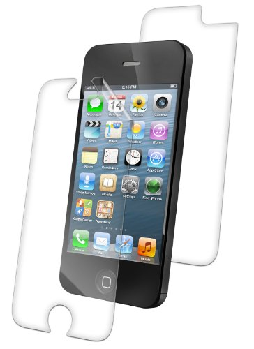 Zagg invisibleSHIELD Full Body Coverage for New Apple iPhone 5C Screen Protector Clear Skin (Front + Back) invisible shield