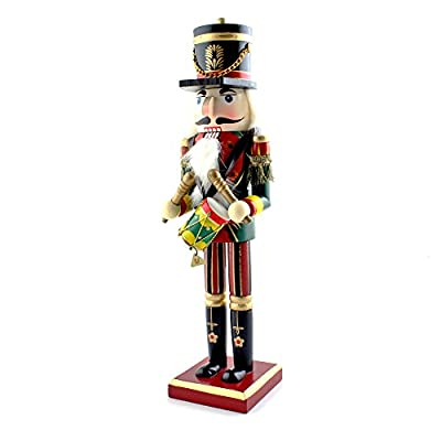 IDS Home 15inch Wooden Christmas Nutcracker Soldier