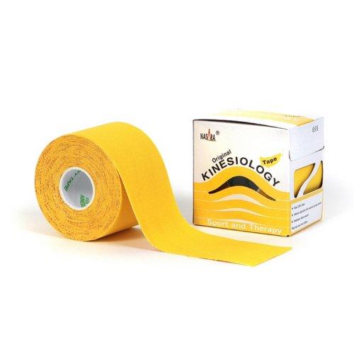 Nasara Kinesiologie Tape N690-96, 5cm x 5m, gelb