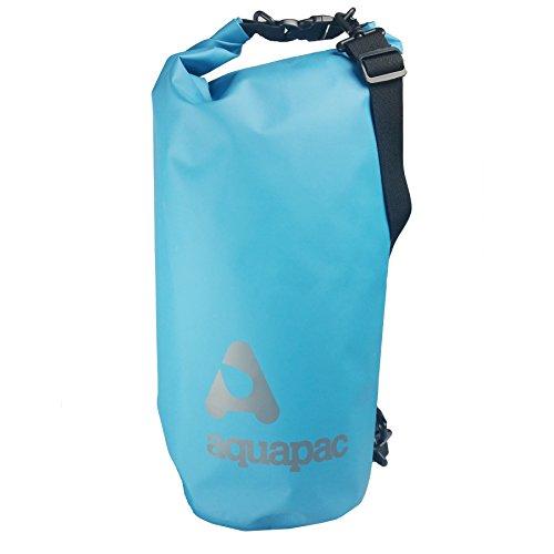 Aquapac Wasserdichter Trockenbeutel TrailProof Drybag 25l, Cyan blau, 50 x 24 x 3 cm, 25 Liter