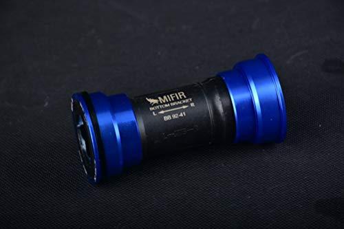 BIKECO BB86 BB90 BB92 - Movimento Centrale per guarnitura Shimano/SRAM GXP, Scarpette a Strappo Voltaic 3 Velcro Fade - Bambini