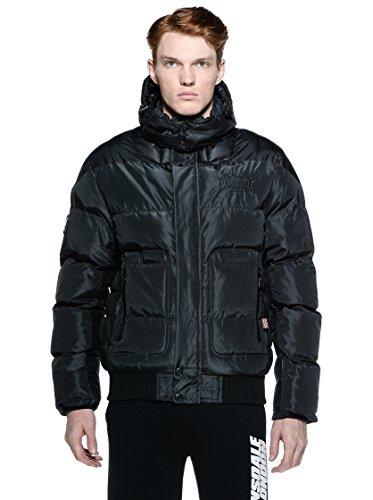 Lonsdale Herren Jacke Winterjacke Hempstead schwarz (Black) XX-Large