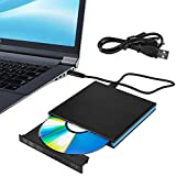 SEAAN Unidad Externa de DVD BLU Ray 3D, USB 3.0 & Type-C Bluray BD DVD CD Quemador óptico, Plug and Play, Compatible con MacOS, Windows XP / 7/8/10 para MacBook, Laptop, Desktop, PC