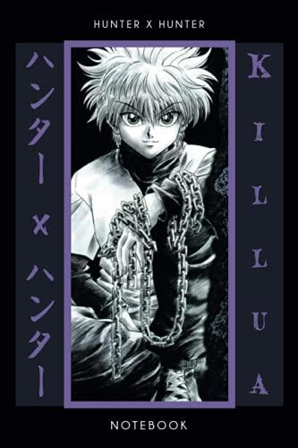 Hunter X Hunter Notebook: Anime Manga Journal, Anime Lovers Notebook, ハンターXハンター, Killua,...