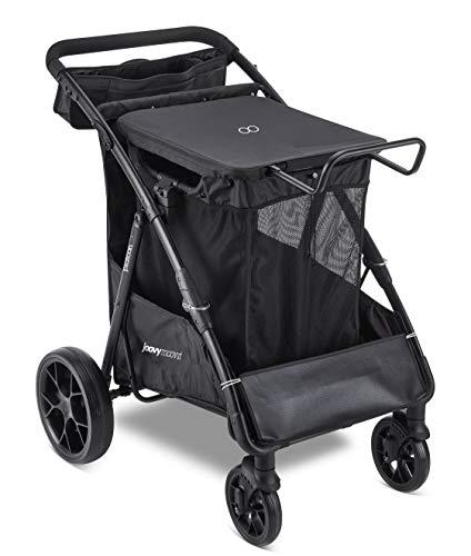 Joovy Platoon Outdoor Cart, Beach Cart, Large Shopping Cart, Utility Cart, Black
