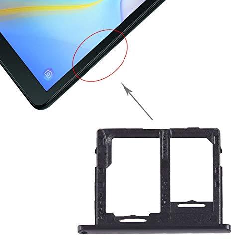 ZMD Bandeja de Tarjeta SIM AYSMG + Bandeja de Tarjeta Micro SD for Galaxy Tab A 10.5 Pulgadas T595 (Versión 4G) (Negro) (Color : Black)