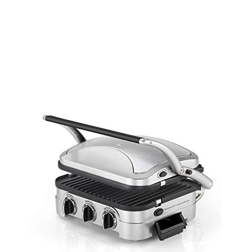 Cuisinart Griddle and Grill, 1600 W - Silver