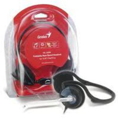 Genius HS-300N Headset with Mic(Black, On the Ear) 2