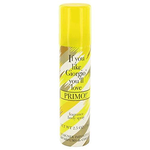 Designer Imposters Primo! By Parfums De Coeur 2.5 oz Body Spray for Women