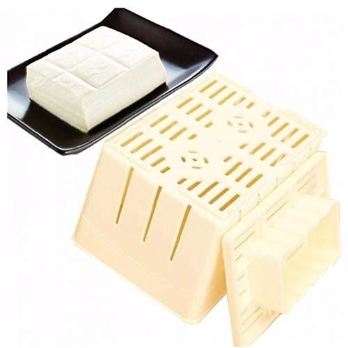 AMOYER 1pc Plástico Tofu Tofu Presione Molde De Prensa Y Queso Feta De Prensa para Hacer Halloumi Mexicana Hecha En Casa del Queso De Soja Cuajada De Soja Fabricación De Moldes De Tela con Queso