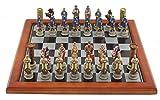 Signes Grimalt - Schachspiel Kreuzritter VS. Araber, Kunstharz, 39x39 cm 70396SG