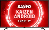 Sanyo 126 cm (50 inches) Kaizen Series 4K Ultra HD Certified Android LED TV XT-50UHD4S (Black) (2020...