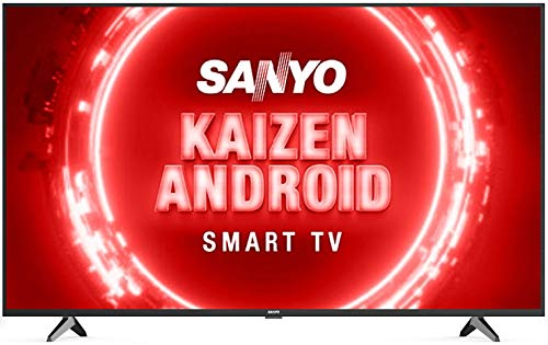 Sanyo 126 cm (50 inches) Kaizen Series 4K Ultra HD Certified Android LED TV XT-50UHD4S (Black)...