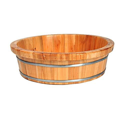 QULONG Bath Holzfass Für Den Hausgebrauch, Holzbadewanne Kinder, Erwachsene Badewanne, Verdickter wasserdichte Bidet Badewanne