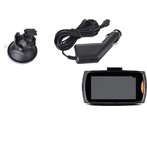 Dash Camera Dash CAM Cámara Dvr De Doble Lente para Coche Full Hd1080P Cámara Frontal Trasera Registradores De Video G-Sensor Night Vision 2.7Inch Single Record