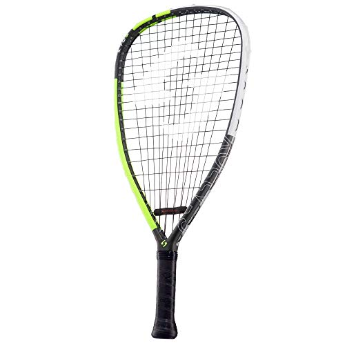 """Gearbox M40 170 Quad 3-5/8"""" Yellow Racquetball Racquet"""