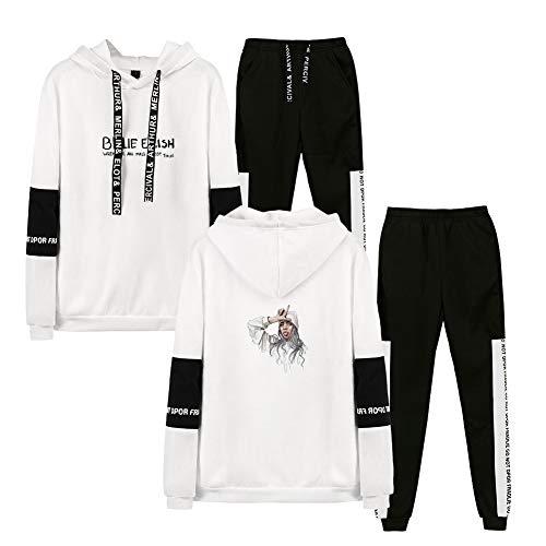 Aibayleef Tik Tok Conjunto Dos Piezas Completo Capucha Sudadera Blusa Y Pantalon Para Mujer Hombre Chandal Gimnasio Sportwear Tracksuit Creeo Com Br