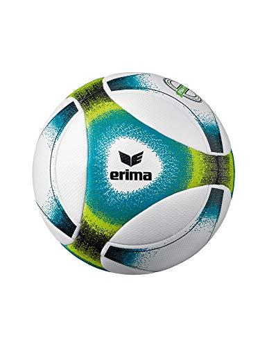 Erima Unisex– Erwachsene Hybrid Futsal SNR Fußball, Petrol/Lime/schwarz, 4