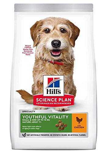 HILLS SCIE HSP Canine Mature 7+ Youthful Vitality Small Mini 1,5KG