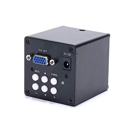 /G 2MP HD VGA cámara de microscopio Lupa Digital Industrial microscopio de Video Profesional para teléfono de Laboratorio PCB reparación de CPU Soldadura