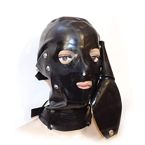 Latex Mask Eyes Gags Size:L