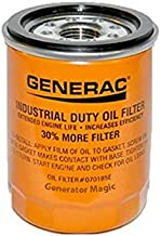 Generac - OIL FILTER 90 LOGO ORNG-CAN - 070185ES / 070185E 90mm High Capacity (30% More Filter)