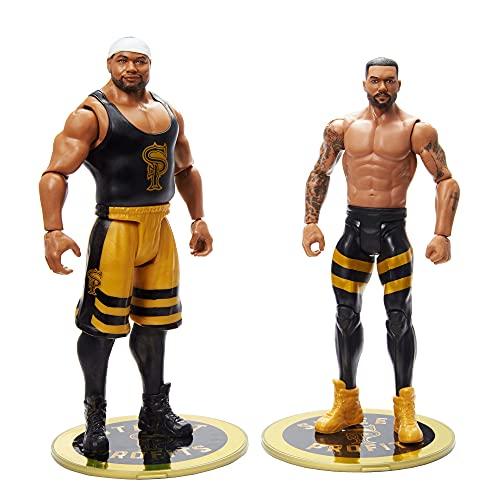 WWE Pack 2 figuras de acción luchadores Dawkins y FRD con accesorios, muñecos...