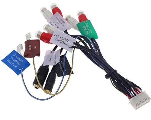 PIONEER aVIC-x1 20pin câble rCA, x3 x1BT amplificateur adaptateur aV télécommande radio