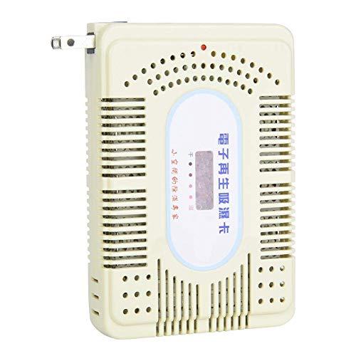 Bella scheda igroscopica di rigenerazione elettronica, scheda di rigenerazione elettronica igroscopica agente essiccatore scatola deumidificatore spina americana AC110V-240V (grande)