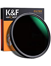 K&F Concept Filtro ND Variable 77mm ND8-ND128 MRC 18 Capas para Objetivo 77mm (5 Pasos)