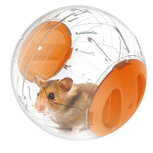 BSGP Laufball für Hamster, Ratten, Rennmäuse, Kunststoff, Gelb, 1 Stück