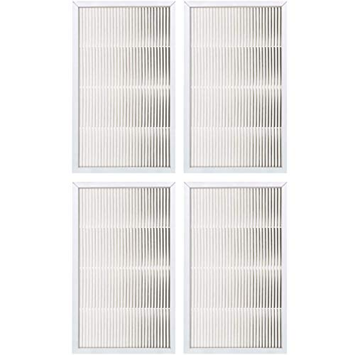 """Fette Filter - Air Cleaning HEPA Filter, 9"""" x 15"""" Compatible With 3M Filtrete FAPF02 & FAPF024 for model # FAP01-RMS, FAP02-RMS, FAP02 - Pack of 4"""