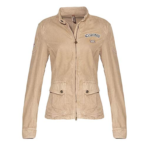 Matchless Damen Sommer Jacke Mick Rebel Colonial Sand 120035 ((42) S)