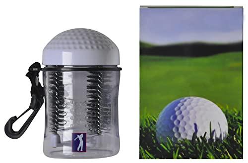 Golf Ball Washer Cleaner - Golfer's Best Gift Idea, Accessory, Gift For Men Women, Souvenir, Present