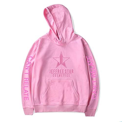 CCEE Jeffree Star Cotton Plus Poliéster Suéter con Capucha Unisex Moda Imprimir Streetwear Sudadera con Capucha 2021 Nuevo Hipster