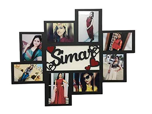 Galaxy Print Creations Customized Name with Photo | Photo Frame | for Some One Special Photo Frame Size (15 * 15)