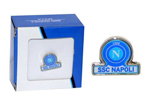 ssc Calcio Napoli Spilla Pin Logo con Scritta SSC Napoli
