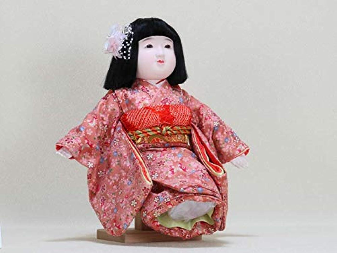 熱意免除する中性お座り人形?駒(こま)J?抱き人形?わらべ人形