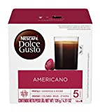 Nescafe Dolce Gusto Coffee Pods, Americano, 16 capsules, Pack of 3