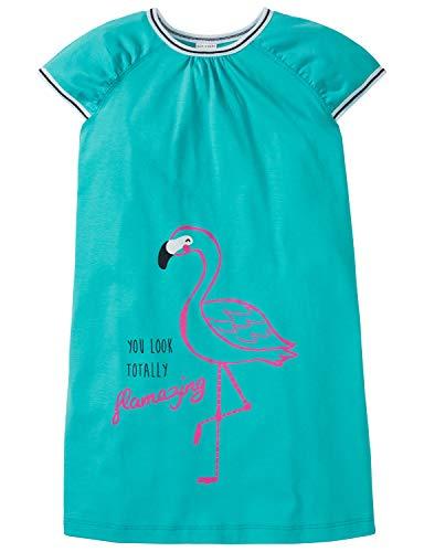 Schiesser Mädchen 1/2 Nachthemd, Grün (Mint 708), (Herstellergröße: 104)