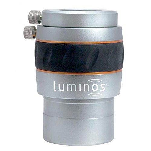 Celestron 820496 Barlowlinse 2,5 x Vergrößerung Luminos, 2 Zoll schwarz