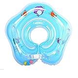GSJDD Baby Hals Schwimmring, aufblasbare Kinder Babypool-Schwimmer, Kinder-Schwimm-Hals-Ring für Baby Kinder Infant, Kleinkind Schwimmhilfe Schwimmring Halsring schwimmende Poolzubehör Spielzeug-Blue